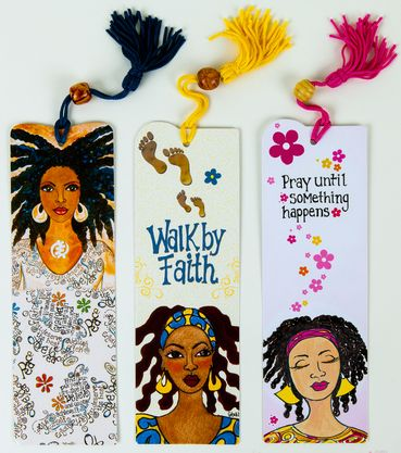 "Bookmark Sets - G (3 Bookmarks by Syvia ""Gbaby"" Cohen)"