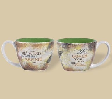 Soup Mug - You Will Find Refuge