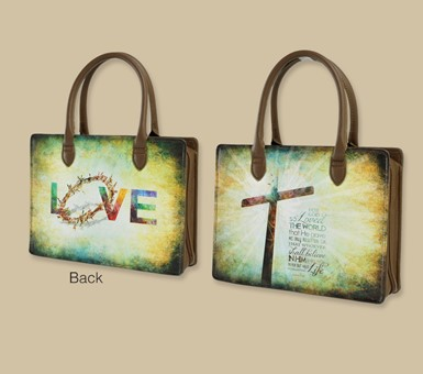 Lady Bible Bag - For God So Loved the World