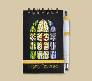Stained Glass Purse Pal - Highly Favored