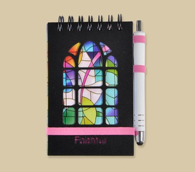 Stained Glass Purse Pal - Faithful