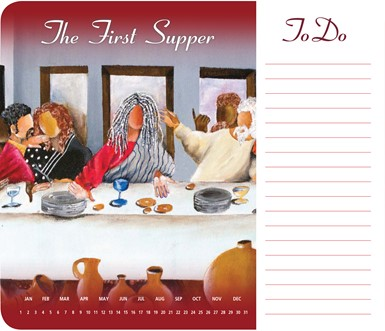 The First Supper Memo Mouse Pad