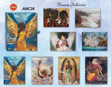 Jewel Boxed Note Cards by Buena Johnson (ANC26)