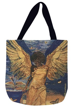 Angelic Guidance Woven Tote Bag  (WTB001)