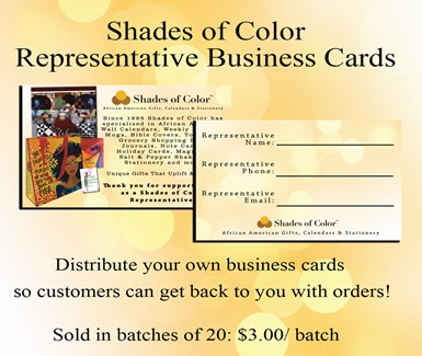 Representative Business Cards