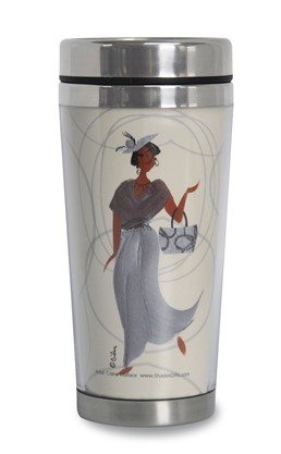 Gorgeous Granny African American Travel Mug