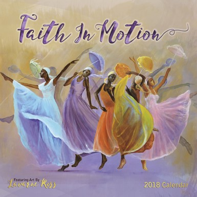 2018 Faith In Motion African American Calendar (18LR)