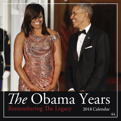 2018 The Obama Years African American Calendar (18OB)