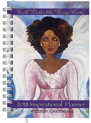 Faith Makes All Things Possible African American  2018 Weekly Planner