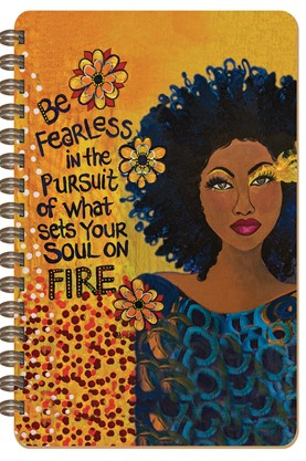 NEW! Soul on Fire Large Journal