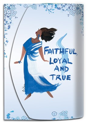 NEW! Faithful, Loyal and True  Purse Pal (PP105)