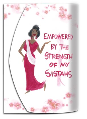 NEW! Empowered by the Strength of My Sistahs Purse Pal (PP106)