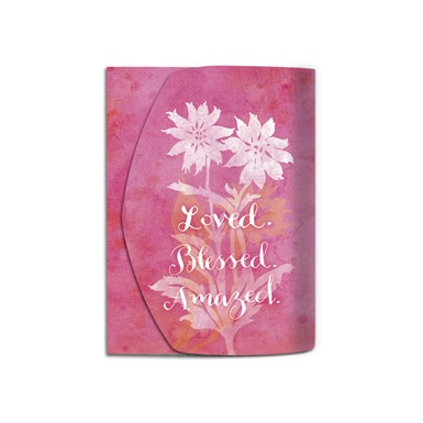 NEW! Loved, Blessed Amazed Purse Pal (SPP31)