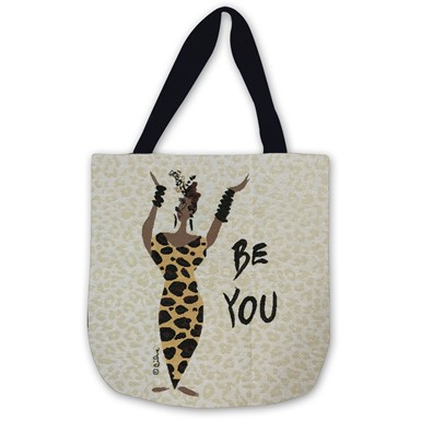 Be You Woven Tote Bag  (WTB010)