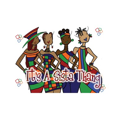 NEW! It's A Sista Thang Magnet (M428)