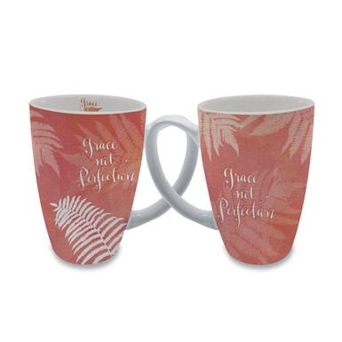 Grace Not Perfection Latte Mug by Sharyn Sowell (LMG33)