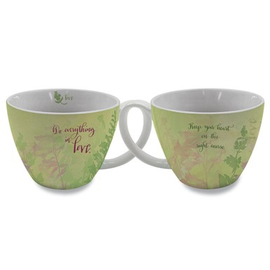 Do Everything in Love Soup Mug by Sharyn Sowell (SMG31)