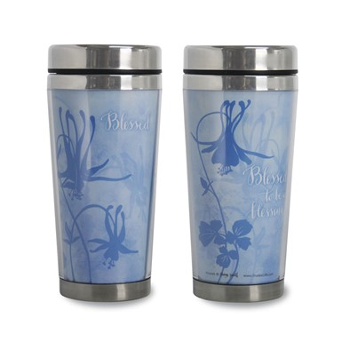 Blessed To Be A Blessing Travel  Mug by Sharyn Sowell (TMG32)