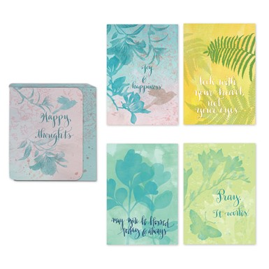 Happy Thoughts Assorted Note Cards by Sharyn  Sowell (ASN32)