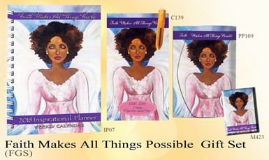 Faith Makes All Things Possible Gift Set by Gbaby