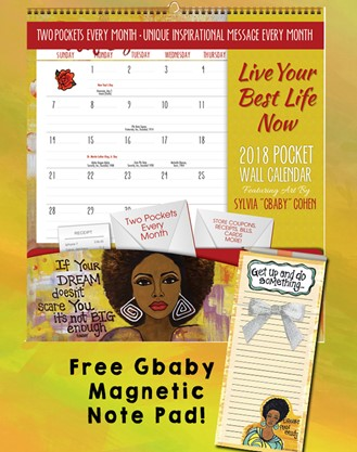 FREE Gift - Live Your Best Life Pocket Calendar