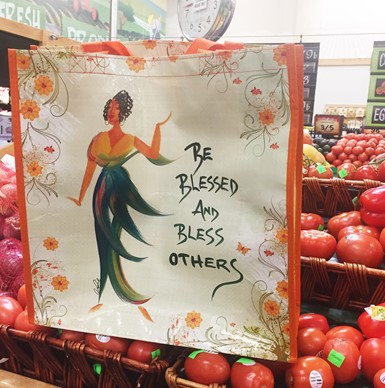 Be Blessed and Bless Others ECO Shopping Bag (ESB102)