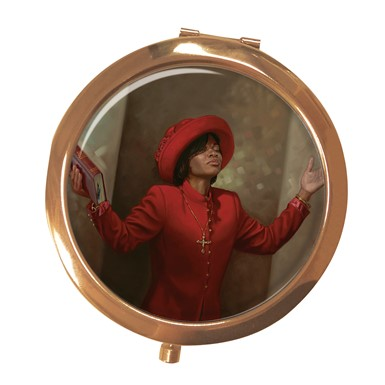 Blessed & Highly Favored Compact Mirror (MCM113)