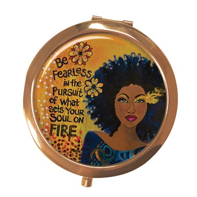 Soul On Fire Compact Mirror (MCM114)