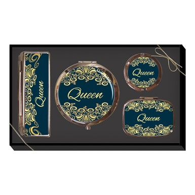 Black Queen Purse Accessory Gift Set