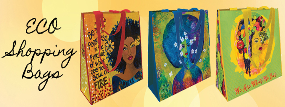 African American ECO Shopping Bag