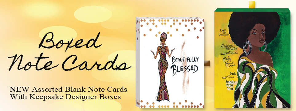 African American Assorted Note Cards